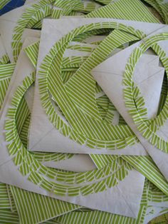 Set-in circles in 6 minutes...old Simply Quilts tute