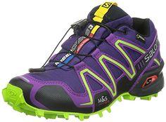 Salomon Speedcross 3 GORE-TEX Women's Trail Running Shoes - AW15 - 9.5 - Purple
