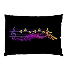 Zelda's Lullaby Pillow Case @Mary Wamser Needed Merch #zelda #tloz #gaming