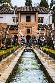 Patio de la Acequia Granada  Spain