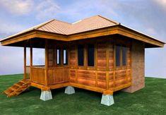 Gambar Rumah Kayu Sederhana