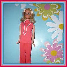 Mattel - Walk Lively Barbie Doll  #1182 From 1971 (item #1274707)