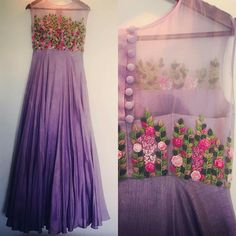 Book your orders now. DM for more details. Can customise on any colour. Whatsapp now 918297720246 Like this Yes/No. Wedding Day Wedding Planner Your Big Day Weddings Wedding Dresses Wedding bells Indian Gowns, Pakistani Dresses, Indian Outfits, Lehenga, Anarkali Dress, Hand Embroidery Dress, Hand Embroidery Designs, Salwar Designs, Blouse Designs