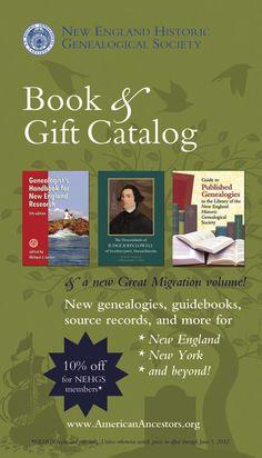 New England Historic Genealogical Society Christmas 2012