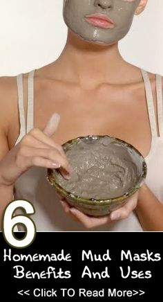 6 Simple Homemade Mud Masks