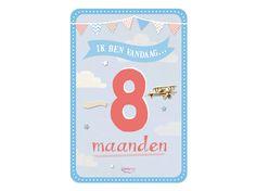 My Happy Moment: Ik ben vandaag 8 maanden! Verkrijgbaar als 18-delige set voor € 9,95 http://www.myhappymoments.nl/home/