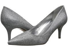 Nine West Margot - Silver Glitter Fabric - Zappos.com Free Shipping BOTH Ways