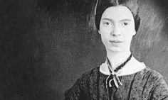 """Emily Dickinson Photograph: ©Amherst College Archives and Special Collections  """"she had smooth bands of red hair"""""""