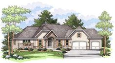 European   Ranch   Traditional   House Plan 42023