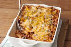 cheesy pasta bake - dinner tonight!