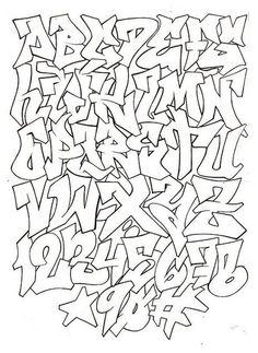 graffiti alphabet letters a-z styles - Google Search