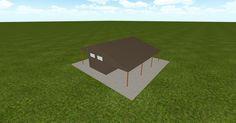 Cool 3D #marketing http://www.muellerinc.com/design/?email=info@viral3d.com&project=S-20161110225754 #barn #workshop #greenhouse #garage #roofing #DIY