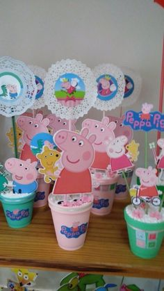 Pig Birthday, 4th Birthday Parties, Diy Cake Topper, Cake Toppers, George Pig, Pig Party, Kids, Young Children, Boys