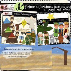 Jacque & Amber - Picture a Christmas {build your own} Preschool Ideas, Craft Ideas, Advent Calander, Felt Board Stories, Christmas Countdown Calendar, Mother Goose, Bible Stories, Church Ideas, Build Your Own