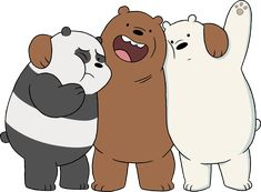 """We Bare Bears"" on Cartoon Network Cartoon Network Bears, Osos Cartoon Network, Desenhos Cartoon Network, Cartoon Network Characters, Cartoon Cartoon, 3 Bears, Cute Bears, We Bare Bears Wallpapers, Cute Wallpapers"