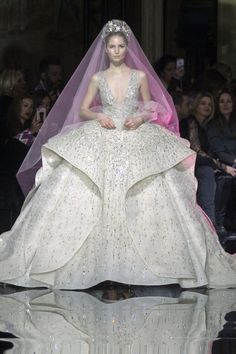 Bridal Look fit for your Fairytale Weddings from Couture Spring 2017 Collection