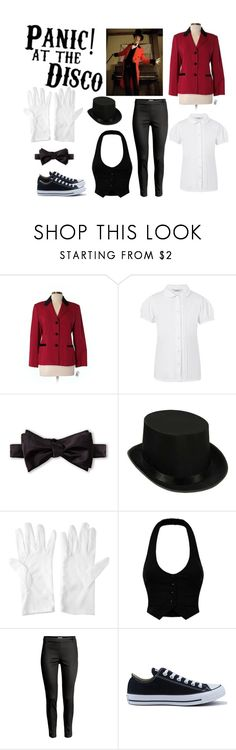"""""""iwsnt"""" by ejeffrey3 on Polyvore featuring Talbots, George, Pierre Cardin and Converse"""