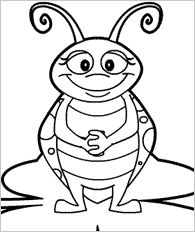Patterns and Colors Bugs Color bug Worksheets and Patterns
