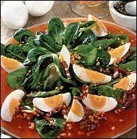 Recept: Červená čočka - salát na Labužník.cz Caprese Salad, Sprouts, Cantaloupe, Fruit, Vegetables, Food Ideas, Diet, Vegetable Recipes, Insalata Caprese