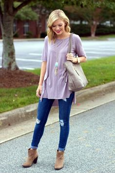 Wear Ankle Boots With Jeans Fashionably (40 Chic Ways) More