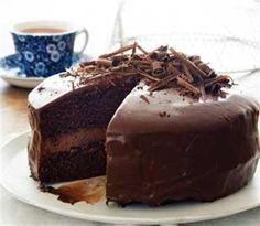 Charmain se hemelse sjokoladekoek Baking Recipes, Cake Recipes, Dessert Recipes, Baking Tips, Bread Recipes, Food Cakes, Cupcake Cakes, Baking Cakes, Fruit Cakes