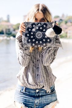 ALILA BANDANA PRINT CLUTCH  as featured in this month's They All Hate Us blog Shop Edit ! http://www.shop.theyallhateus.com/ #ALILA #TheyAllHateUs xx