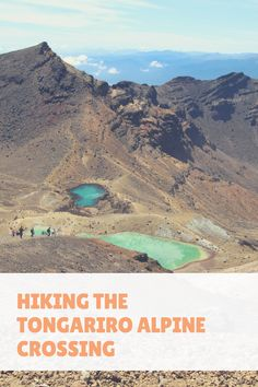 Hiking the Tongariro