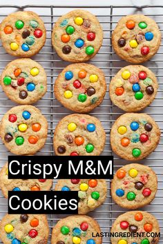 I love cookies and have always loved them, so it's pretty tough for me to pick. - I love cookies and have always loved them, so it's pretty tough for me to pick a favorite. M M Cookies, Crispy Cookies, Peanut Butter Cookies, Sugar Cookies, Salted Chocolate, Chocolate Chunk Cookies, Chocolate Recipes, M&m Cookie Recipe, Cookie Recipes