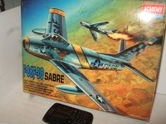 New Academy 2162 F-86 F-30 Sabre Model Kit in Larger 1:48 Scale.