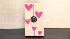 How to Make Recyclable Heart Box- HogarTv By Juan Gonzalo Angel