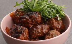 Recette - Boulettes de viande sauce barbecue en vidéo