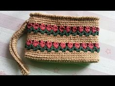How to Crochet the Tulip Purse (Rectangle) - YouTube