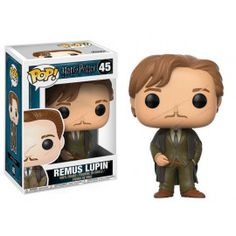 From Harry Potter, Remus Lupin, as a stylized POP vinyl from Funko! Figure stands 3 inches and comes in a window display box. Check out the other Harry Potter figures from Funko! Collect them all! Harry Potter Ron, Harry Potter Pop Vinyl, Harry Potter Pop Figures, Objet Harry Potter, Funko Harry Potter, Harry Potter Dolls, Remus Lupin, A Wrinkle In Time, Lord Voldemort