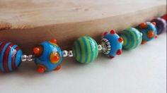 Bohemia Lampwork Necklace - 1 Handmade Jewellery, Shopping, Jewelry, Bohemia, Handmade Jewelry, Bijoux, Handcrafted Jewelry, Jewlery, Jewels