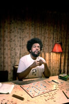 Questlove~find those words for Pete's sake. Just SAY IT!