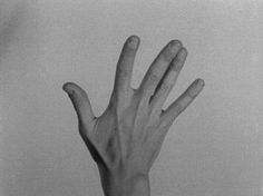 wormsinprocess:hand movie, yvonne rainer, 1966
