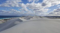 Sand dunes reach for the sky  These sand hills, about 350km east of Esperance, in Western Australia, have been recorded at 300 metres above sea level.  ABC Open contributor philipenalurick