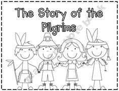 The Story of the Pilgrims - A Thanksgiving Book product from Fall-into-First on TeachersNotebook.com