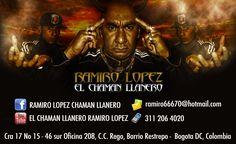 RAMIRO LOPEZ EL CHAMAN LLANERO http://ramiro66670.wix.com/chamanllanero