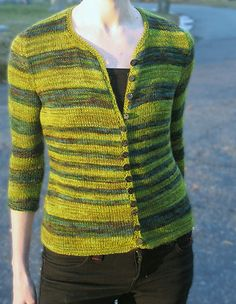 Tempest cardigan - Spring 2008 - Knitty, use angel yarn in neutral color for a different look