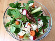 Friss saláta, csirkemell sonkával Cobb Salad, Food, Essen, Meals, Yemek, Eten
