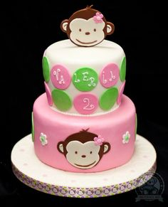 Monkey Cake | Dream Day Cakes