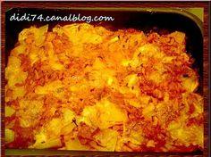 Gratin de courgettes, pommes de terre et mozzarella