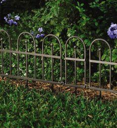 Exceptionnel Inexpensive Garden Fence | Garden Or Flower Bed Iron Fence Edging   Best  Price Garden Fence