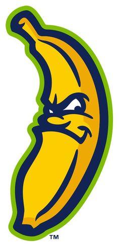 Savannah Bananas Alternate Logo on Chris Creamer's Sports Logos Page - SportsLogos. A virtual museum of sports logos, uniforms and historical items. Mascot Design, Logo Design, Graphic Design Illustration, Illustration Art, Ballon Animals, Logo Luxury, Graffiti Words, Banana Art, Typography Poster