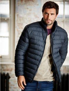 Men's Peter Werth Penton Parka, Navy | Men's Winter Coats ...