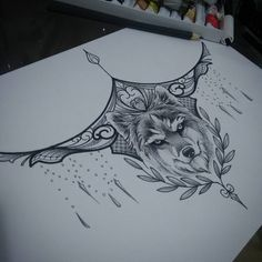 """185 curtidas, 1 comentários - Tico Tattoo (@tico_tattoo) no Instagram: """"Lobinho... #wolf #wolftattoo #underboobtattoo #underboob #tattoopreta #indiantattoo…"""""""