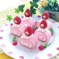 gr: Thank you very much for your wishes … – Pastry World Dessert Kawaii, Japan Dessert, Japanese Snacks, Japanese Sweets, Japanese Food Art, Japanese Cake, Cute Baking, Cute Desserts, Comfort Food