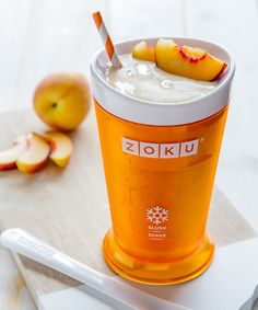 Serves 2 INGREDIENTS 2 cups peeled, chopped peaches (about 4 medium) 1 cup high quality vanilla bean ice cream ¼ cup milk OPTIONAL GARNISH peach slices DIRECTIONS Place all ingredients into a blender...