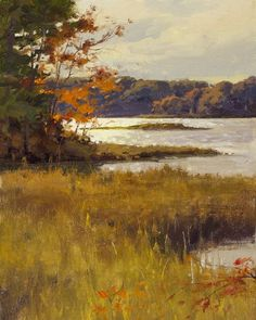 Touches of Autumn by Don Demers, 10 x 8, oil painting.